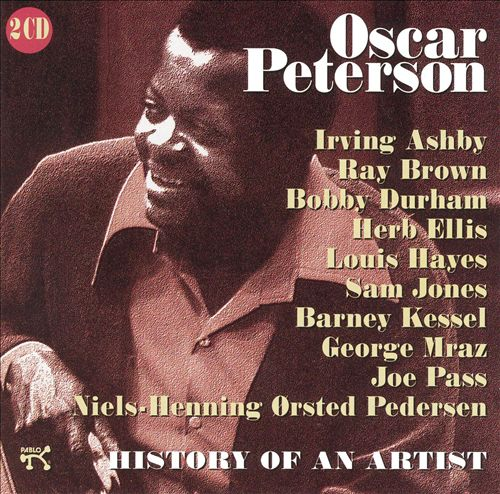Oscar Peterson, History Of An Artist with Louis Hayes