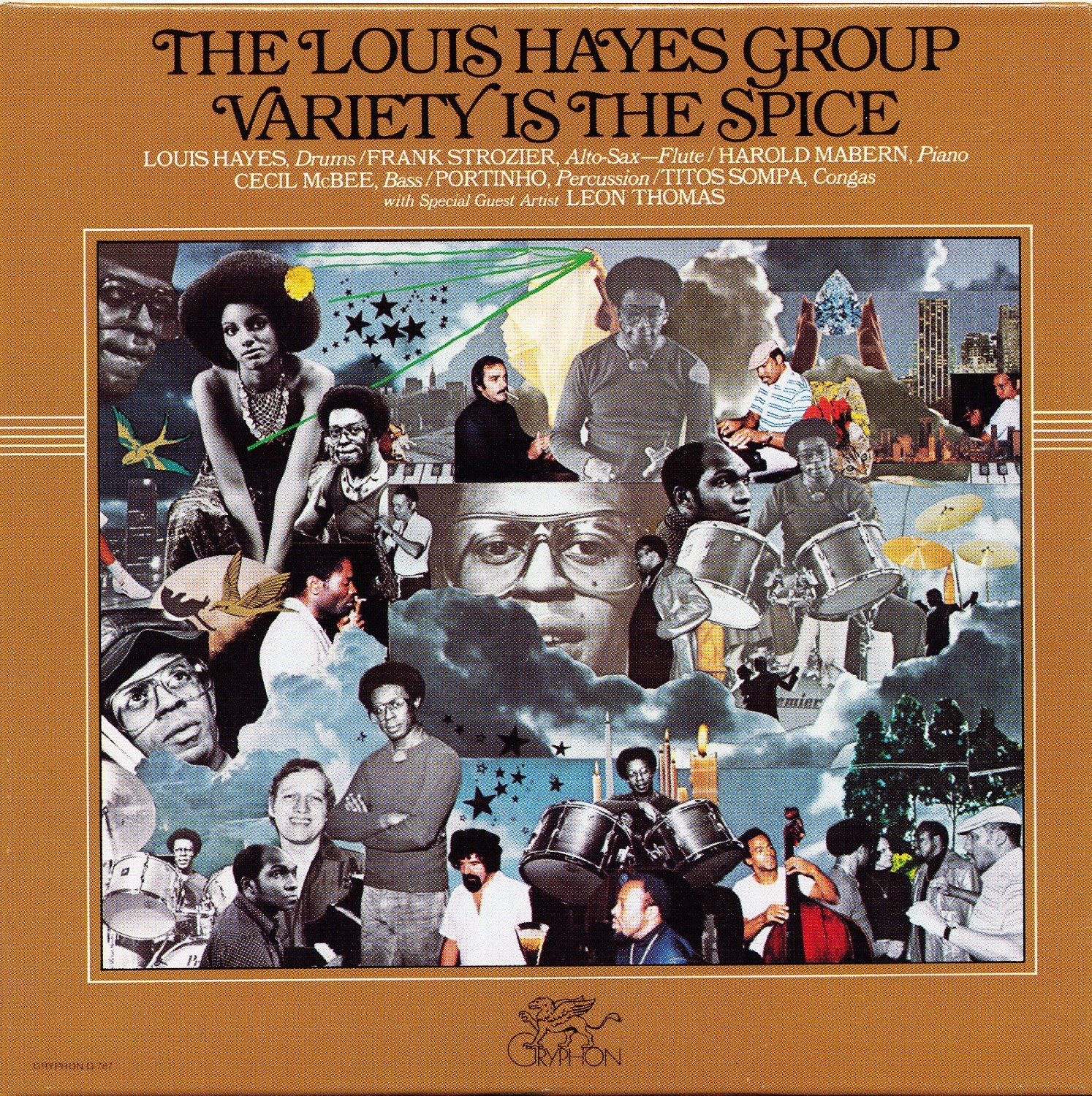 Louis Hayes - Variety Is The Spice